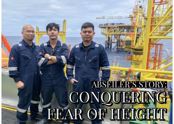 Abseiler's Story: Conquering Fear of Height